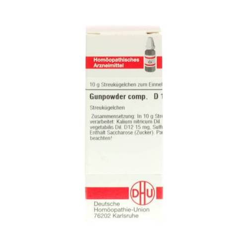 GUNPOWDER comp.D 12 Globuli 10 g