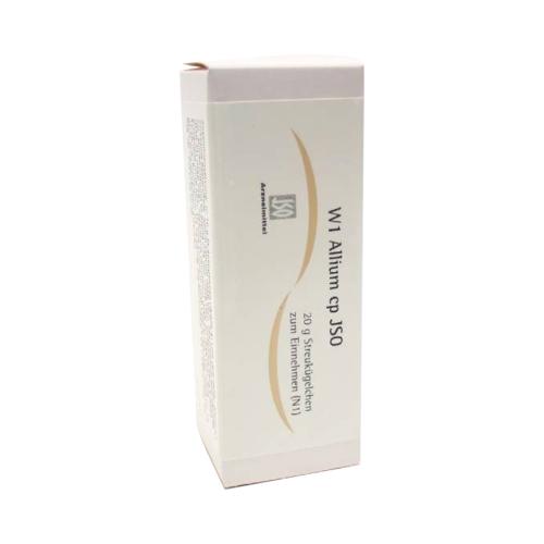 JSO W 1 Allium cp Globuli 20 g