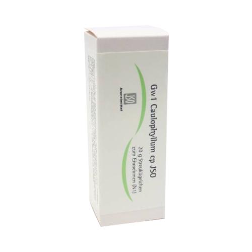 JSO Gw 1 Caulophyllum cp Globuli 20 g