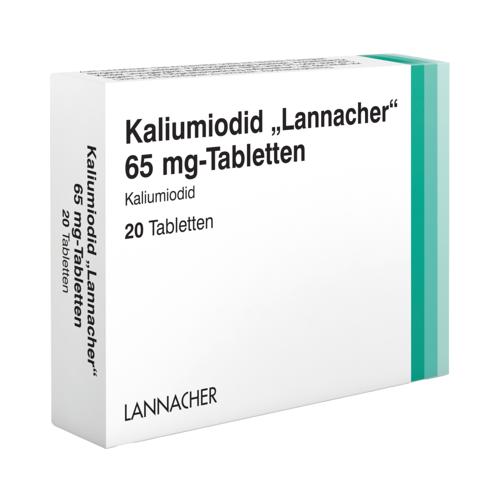 KALIUMIODID Lannacher 65 mg Tabletten 20 St