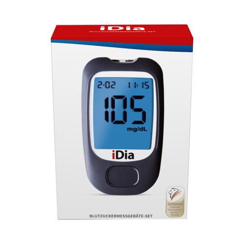 IDIA IME-DC Blutzuckermessgerät Set mg/dl 1 St