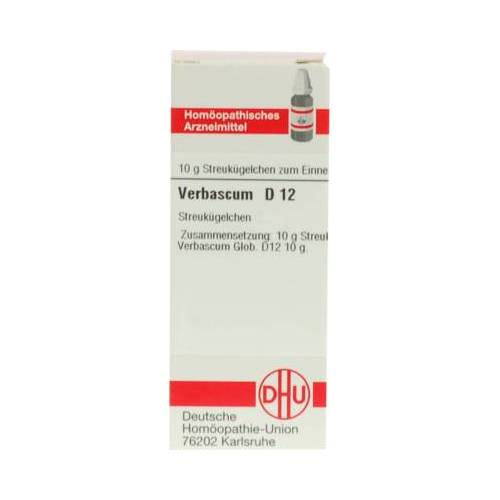 VERBASCUM D 12 Globuli 10 g