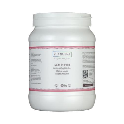 MSM PULVER Methylsulfonylmethan Pulver 1000 g
