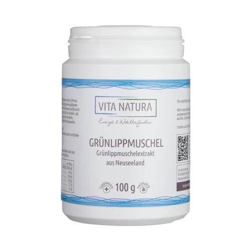 GRÜNLIPPMUSCHEL PULVER 100 g