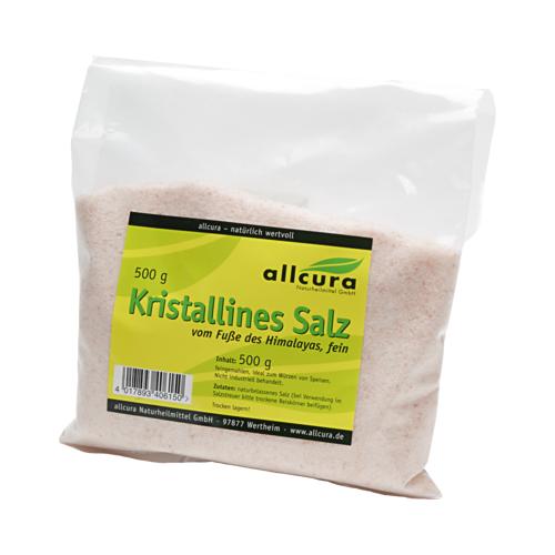 KRISTALLINES Salz v.Fuße d.Himalaya fein gem. 500 g
