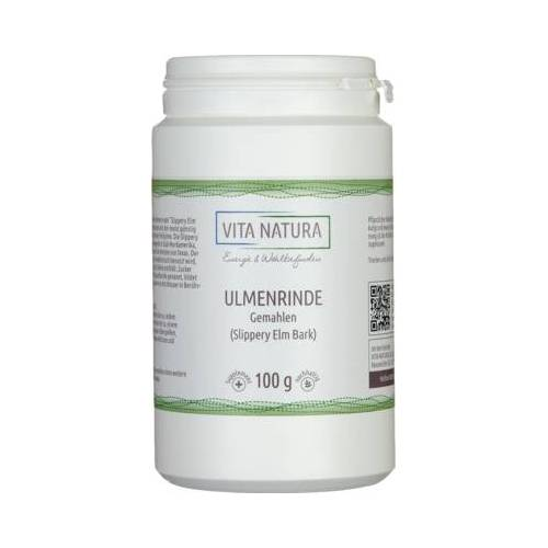 AMERIK.ULMENRINDE SLIPPERY ELM BARK Pulver 100 g