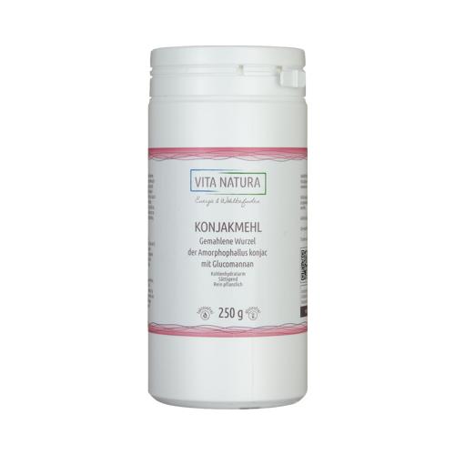 KONJAKMEHL mit Glucomannan Pulver 250 g