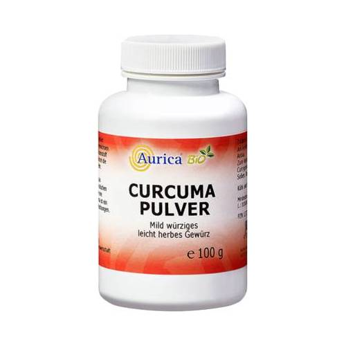 CURCUMA PULVER Bio 100 g
