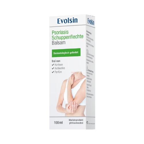 EVOLSIN Psoriasis Schuppenflechte Balsam 100 ml