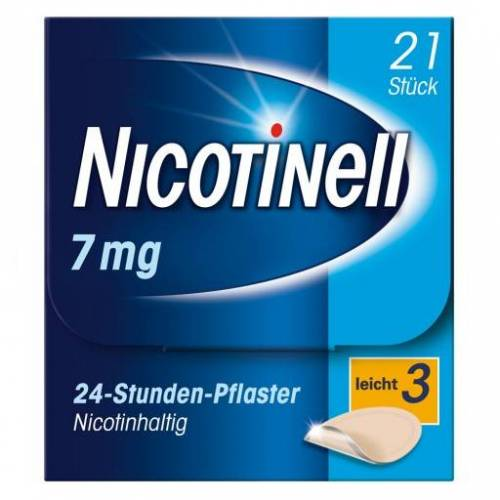NICOTINELL 7 mg/24-Stunden-Pflaster 17,5mg 21 St