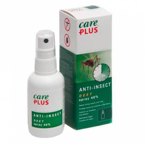 CARE PLUS Deet Anti Insect Spray 40% 100 ml