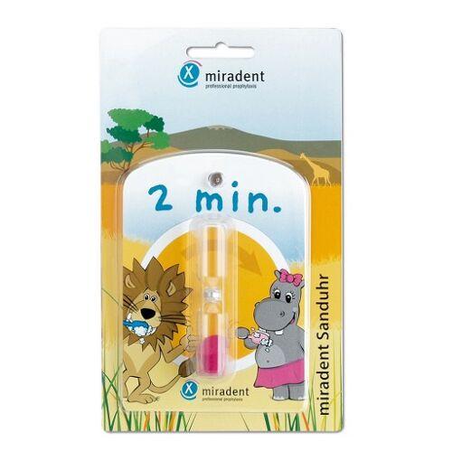 MIRADENT Kinder-Zahnputzuhr Sanduhr 1 St