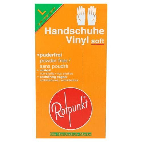 HANDSCHUHE Vinyl soft L 100 St