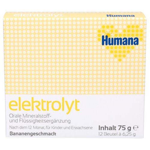 HUMANA Elektrolyt Banane Pulver 75 g