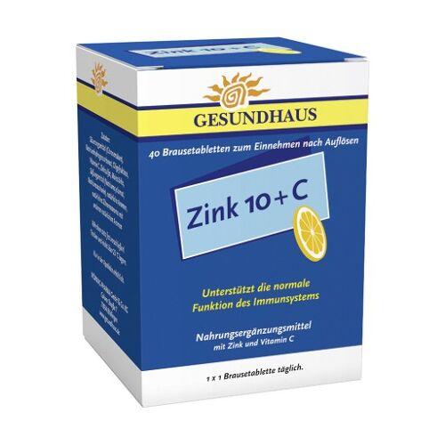 ZINK 10+C Brausetabletten 40 St