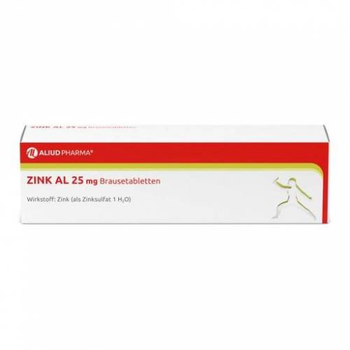 ZINK AL 25 mg Brausetabletten 40 St