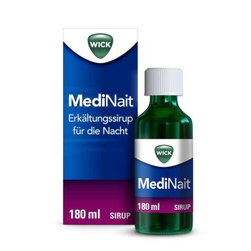 WICK MediNait Erkältungssirup für die Nacht 180 ml