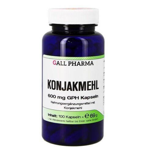 KONJAKMEHL 600 mg Kapseln 100 St