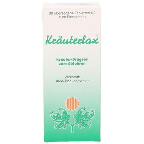 KRÄUTERLAX Dr.Henk 15 mg Kräuterdrag.z.Abführen 30 St