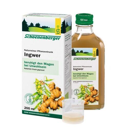 INGWER PFLANZENTRUNK Schoenenberger 200 ml