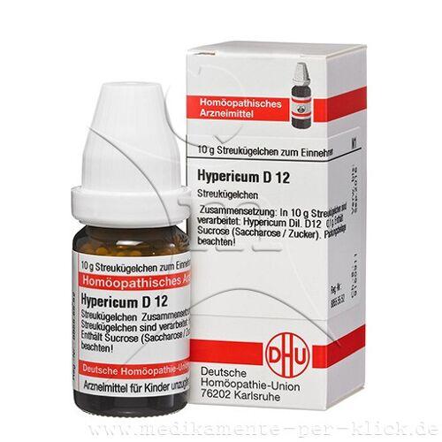 HYPERICUM D 12 Globuli 10 g