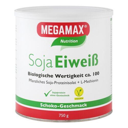 MEGAMAX Soja Eiweiß Schoko Pulver 750 g