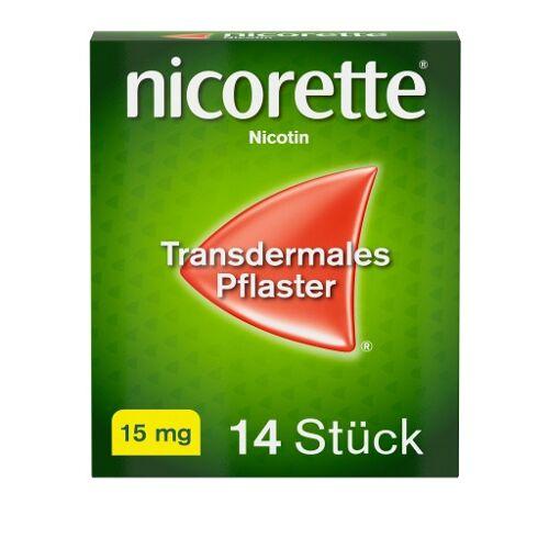 nicorette® Pflaster mit 15 mg Nikotin zur Raucherentwöhnung 14 St