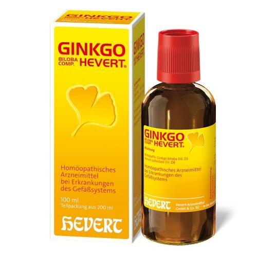 GINKGO BILOBA COMP.Hevert Tropfen 200 ml
