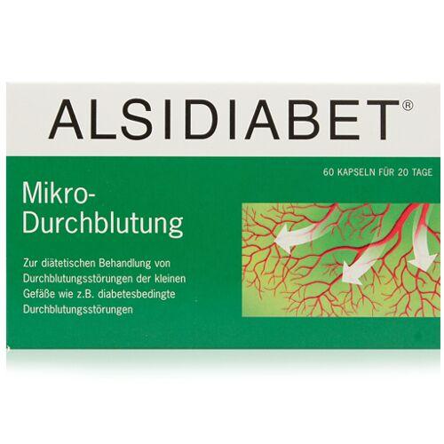 ALSIDIABET Diabetiker Mikro Durchblutung Kapseln 60 St