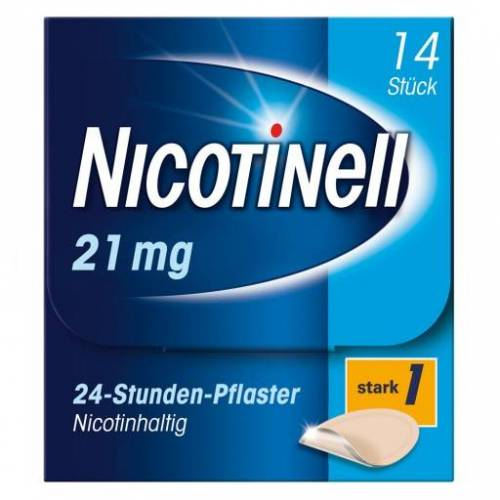 NICOTINELL 21 mg/24-Stunden-Pflaster 52,5mg 14 St