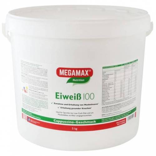 EIWEISS 100 Cappuccino Megamax Pulver 5000 g