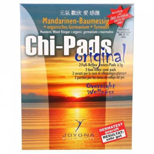 CHI-PADS Reflexzonenpflaster mit Mandarinen-Baumessig-Pulver 2X5 g