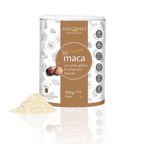 MACA 100% pur Bio Pulver 500 g