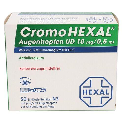 CROMOHEXAL UD EDP 0,5 ml Augentropfen 50 St