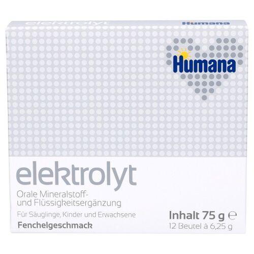 HUMANA Elektrolyt Fenchel Pulver 75 g