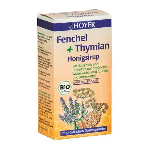 HOYER Fenchel+Thymian Honigsirup 250 g