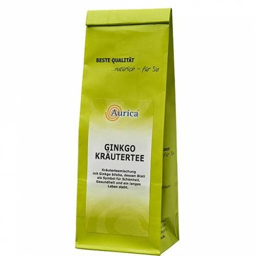 GINKGO KRÄUTERTEE Aurica 100 g