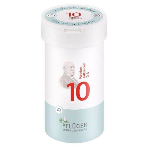 BIOCHEMIE Pflüger 10 Natrium sulfuricum D 6 Pulver 100 g