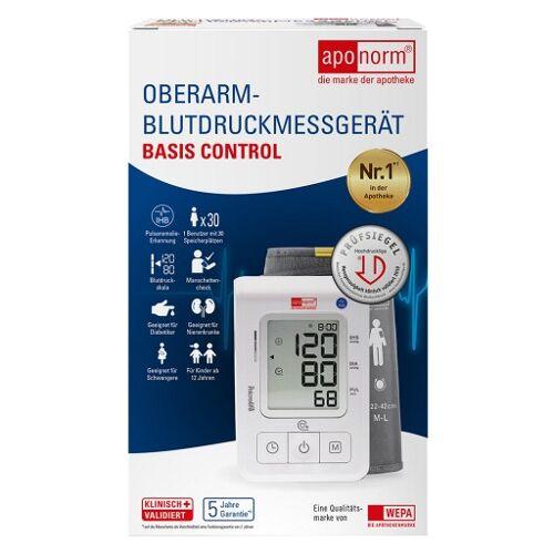 APONORM Blutdruckmessgerät Basis Control Oberarm 1 St