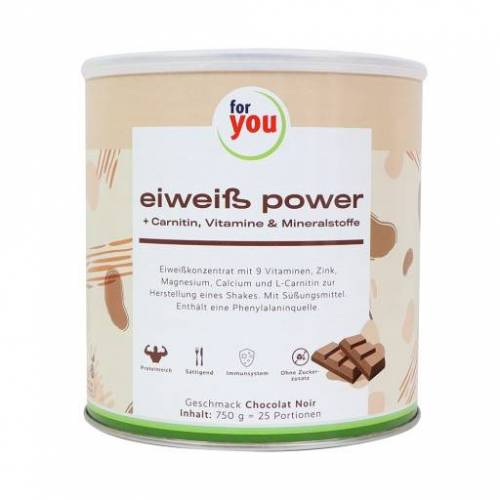 FOR YOU eiweiß power Schoko 750 g