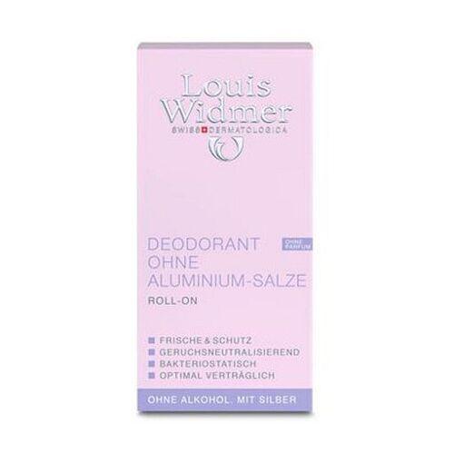 WIDMER Deodorant ohne Aluminium Salze leicht parf. 50 ml
