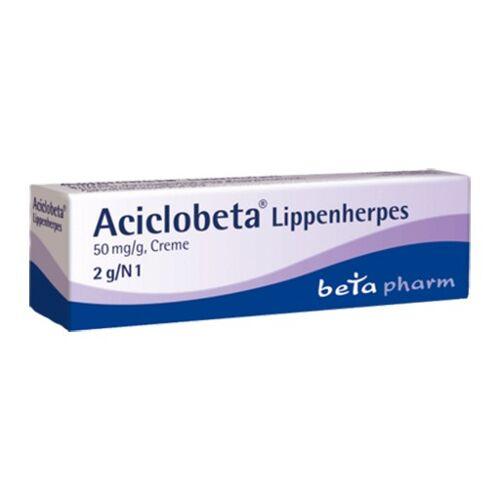 ACICLOBETA Lippenherpes Creme 2 g