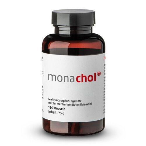 MONACHOL rotes Reismehl 500 mg Kapseln 120 St