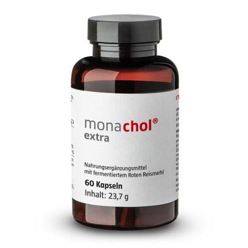 MONACHOL extra rotes Reismehl 250 mg Kapseln 60 St