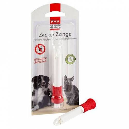 PHA ZeckenZange f.Hunde/Katzen 1 St