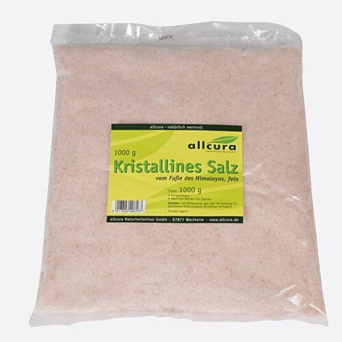 KRISTALLINES Salz v.Fuße d.Himalaya fein gem. 1000 g