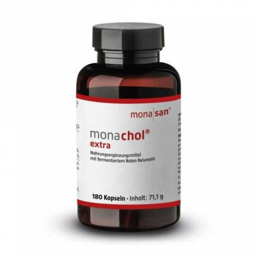 MONACHOL extra rotes Reismehl 250 mg Kapseln 180 St
