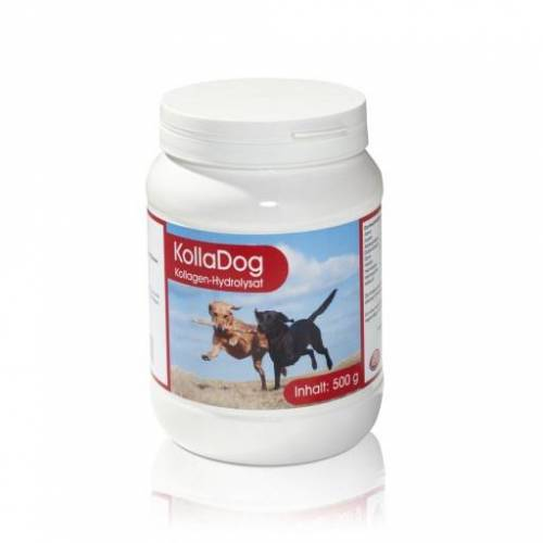 KOLLAGEN HYDROLYSAT Kolladog Pulver vet. 500 g
