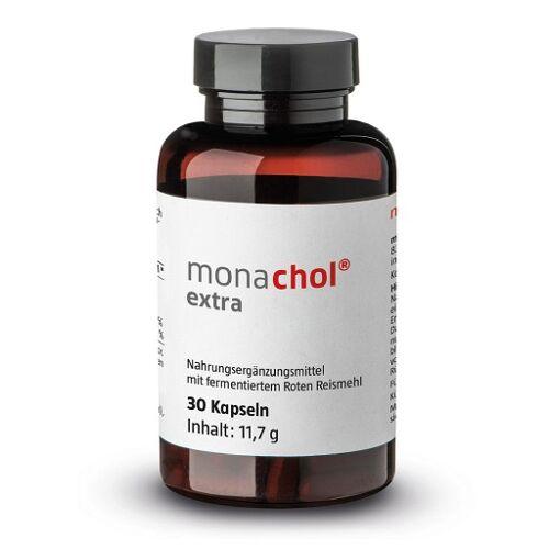MONACHOL extra rotes Reismehl 250 mg Kapseln 30 St