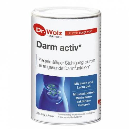 DARM ACTIV Dr.Wolz Pulver 209 g